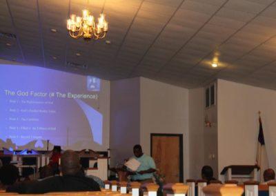 Dr. Kornegay teaching on The God Factor