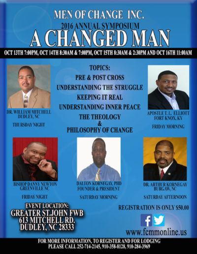 A Changed Man Symposium 2016