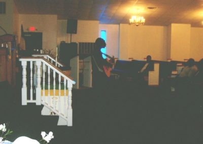 Psalmist Witherspoon worship experience
