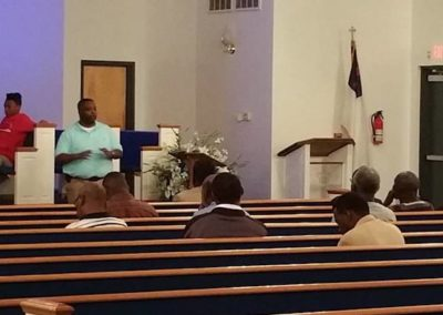 Dr. Kornegay teaching The God Factor