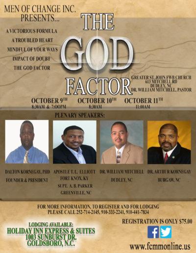 The God Factor Symposium 2015