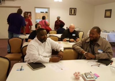One-on-one fellowship