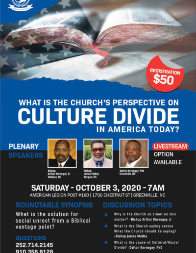 What is the Church's Perspective on Culture Divide Symposium 2020